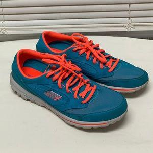 Skechers Go Walk Lace Up Sneakers